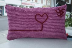 Animated/ Personalised cushion cover (duch feather base), made to meause/ order.