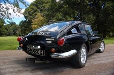 Picture of British classic sports car black Triumph Spitfire stock photo, images and stock photography. Classic Sports Cars, British Sports Cars, Classic Cars, Triumph Gt6, Triumph Spitfire, Triumph Sports, Commercial Vehicle, Old Cars, Vintage Cars