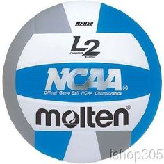 Volleyballs 159132: Molten Ivu-N Nfhs Ncaa L2 Composite Indoor Volleyball Official Size -> BUY IT NOW ONLY: $34.5 on eBay!