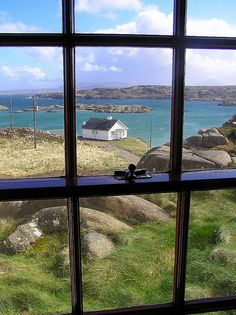 through window | view from croft house on island far west co… | Flickr