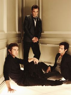 Gossip Girl: Chuck Bass, Nate Archibald, Dan Humphrey...the 3 hottest fictional characters ever created