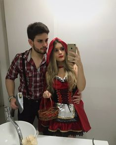 Couples Halloween Outfits, Rave Halloween Costumes, Unique Couple Halloween Costumes, Best Couples Costumes, Family Halloween, Hot Couple Costumes, College Couple Costumes, Matching Costumes, Halloween Kleidung