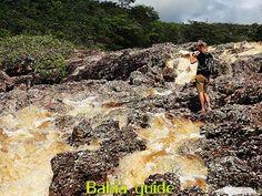 "Like it wild ? Here is the river entering Lençois in Chapada Diamantina National Park (aka ""The Brazilian Grand Canyon"") in NE-Brazil with Ivan Bahia Guide"