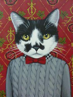 Cats in Clothes | via Facebook