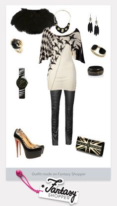 This tunic is Uber Cool!! Not sure how the leather pants would work for me, but I love the outfit anyway!