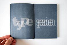 Serifa type specimen book