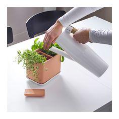 ANVÄNDBAR 4-piece self-watering plant pot set  - IKEA