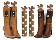My Boot Trees(™). There are so many patterns to choose from. Use Promo Code MYBOOT10 to get 10% OFF on Amazon. These are very sturdy, very well made, hand-crafted boot trees to keep your boots upright and stored properly. Sold on Amazon on http://www.myboottrees.com/shop-2/ Each pair comes with a Lifetime Guarantee as well.