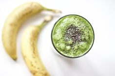 Reach your fitness goals and burn more fat with this antioxidant rich green smoothie. Great for postpartum, post workout, and so much more.