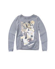 Lovely sweatshirt #maisonespin #fw14 #collection #lovely #clothing #madewithlove #chiaranasti #romanticstyle
