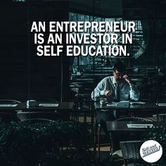 Investing in yourself always outweighs the actual dollars you spend to do it. Any entrepreneur won't make it far if they're not constantly learning. At the end of the day what you invest your time in defines who you are.