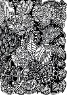 55 Ideas art projects painting canvases design studios for 2019 Dark Drawings, Doodle Drawings, Art Drawings Sketches, Doodle Art, Doodle Designs, Canvas Designs, Zantangle Art, Picasso Art, Smoke Art