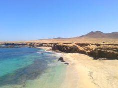 Cala en la Punta de Jandía, Playa de Ojos, Fuerteventura, Islas Canarias.  Spain.