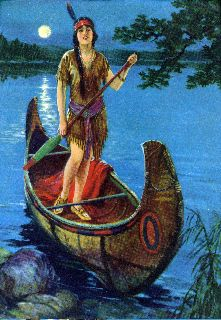 Vintage Indian Maiden