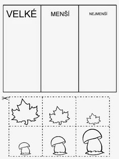 pracovní listy školka - Hledat Googlem Preschool Education, Kindergarten Worksheets, Preschool Activities, Primary School, Pre School, Sudoku, Cut And Paste Worksheets, School Readiness, Autumn Activities
