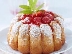 Charlotte aux fraises Tupperware