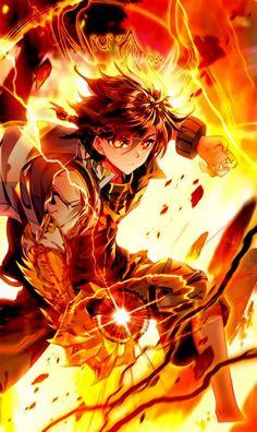 legend of the dragon king Anime Demon Boy, Dark Anime Guys, M Anime, Cool Anime Guys, Anime Warrior, Cute Anime Boy, King Anime, Anime Art Fantasy, Dark Fantasy Art