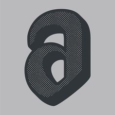 The letter a. This is the part of a letter series done by Zachary Spurling # letter Type Design, Graphic Design, Letter Form, Hand Lettering, Typography, Symbols, Letters, Letterpress, Letterpress Printing