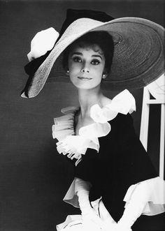 The beautiful Audrey Hepburn