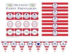 Olympic Party Printa