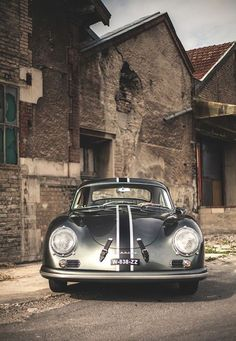 Ideas Beautiful Cars Vintage Porsche 356 For 2019 Cars Vintage, Vintage Porsche, Retro Cars, Porsche Classic, Black Porsche, Classic Sports Cars, Classic Cars, Classic Style, Porsche Autos