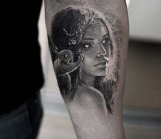 Valkyrie tattoo by Niki Norberg