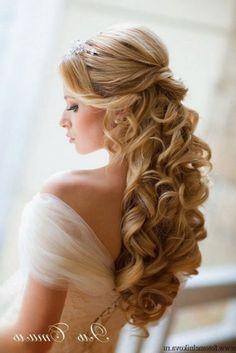 Wedding Down Hairstyles                                                                                                                                                                                 Más