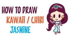 Today I will show you how to draw a baby-like version of Jasmin from Disney's Aladdin. This is an easier version to learn how to draw, and it is much cuter. We will guide you thru the process of drawing chibi Jasmin by using simple geometric shapes, letters, and numbers.