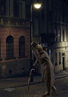 Человек-невидимка, Англия, начало ХХ века. М001, М1:14 (120 мм).