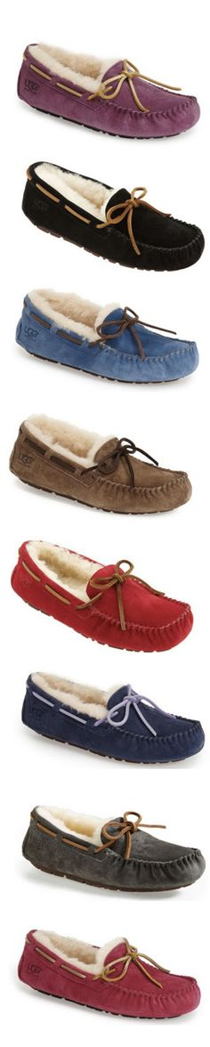 Love these super soft and cozy UGG Dakota slippers!