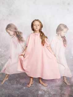 Gorgeous silk nightie for kids sleepwear fall 14 by Estonian label Amiki