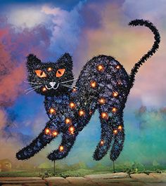 Halloween Lighted Black Sparkle Cat Garden Stake Collections Etc http://www.amazon.com/dp/B011AYK766/ref=cm_sw_r_pi_dp_OOj-vb1XKPBJJ
