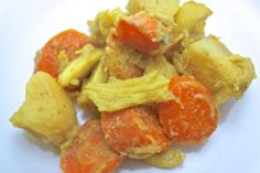 Spicy Potatoes, Cabbage & Carrots