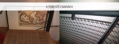 Řešení schodiště barevnou (černá) nerezovou sítí X-TEND - Carl Stahl www.carlstahl.cz