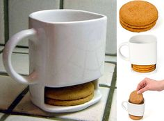 Mug + cookie holder = genius!