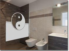 Fensterfolie Für Badezimmer Yin U0026 Yang