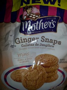 Mother's Ginger Snaps
