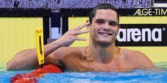 Florent #Manaudou a décroché sa quatrième médaille d'or aux Championnats d'Europe de #natation en remportant le 50 mètres nage libre, dimanche à Berlin. Déjà sacré sur 50 m papillon, 100 m nage libre et 4 x 100 m libre, Manaudou s'est imposé en 21 sec 32, devant le Polonais Konrad Czerniak (21 sec 88) et le Finlandais Ari-Pekka Liukkonen (21 sec 93).