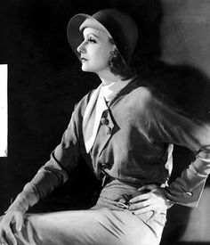 "Greta Garbo for ""Inspiration"""