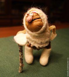 Купить Бабуля зимняя - белый, новогодний сувенир, оригинальный сувенир, бабушка, метель, Снег