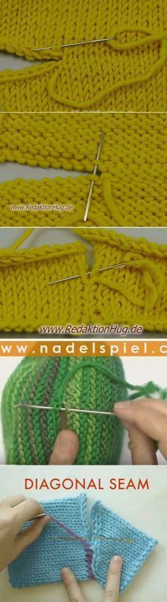 Trendy Knitting Techniques Tips Tricot Ideas Knitting Stiches, Knitting Help, Loom Knitting, Crochet Stitches, Baby Knitting, Knit Crochet, Stitch Patterns, Knitting Patterns, Crochet Patterns