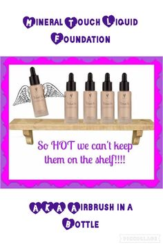 Airbrush in a Bottle! You've never seen such flawless coverage with a powder finish! www.youniqueproducts.com/Carla1500