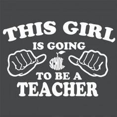 This girl is teacher tshirt - Google Search