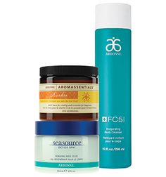 Joy to Your Skin Set  Let the invigorating spirit of the season come alive when you purchase Arbonne Aromassentials® Awaken Sea Salt Scrub and SeaSource Detox Spa® Renewing Body Gelée. Plus you get the FC5® Invigorating Body Cleanser FREE! Arbonne.com consultantID#21330476