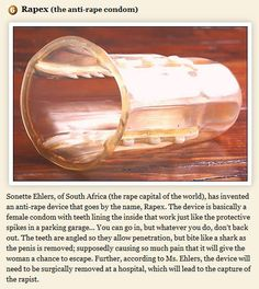 HOLY CRAP?!! I have no words (anti-rape invention)