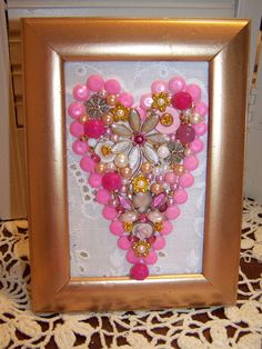 Vintage Jewelry HEART