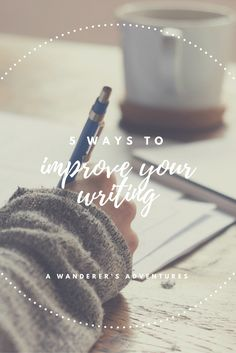 Everyone writes, but not everyone does it correctly. Whether you're a college student or a blogger (or both), you're bound to find yourself writing. Actually, most jobs include at least a little bit of writing on the employee's part. Click through to read my 5 tips to improve your writing!