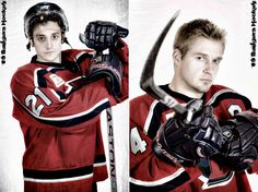 hockey- only the guy on the right is cute!!!