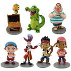 TV products Jack and the Neverland Pirates PVC Action Figure 7pcs/lot TOY free shipping(China (Mainland))