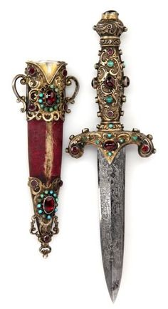 Petite Jeweled Dagger